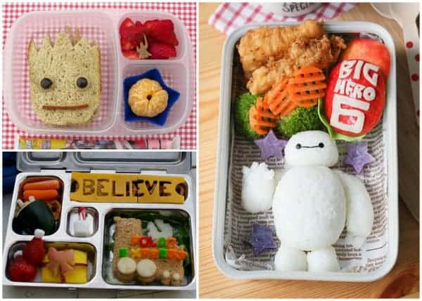 Fantastic Round-Up of some of the best creative bento lunches and bloggers from around the web 3