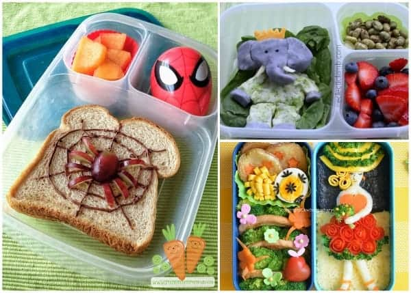 Fantastic Round-Up of some of the best creative bento lunches and bloggers from around the web 4