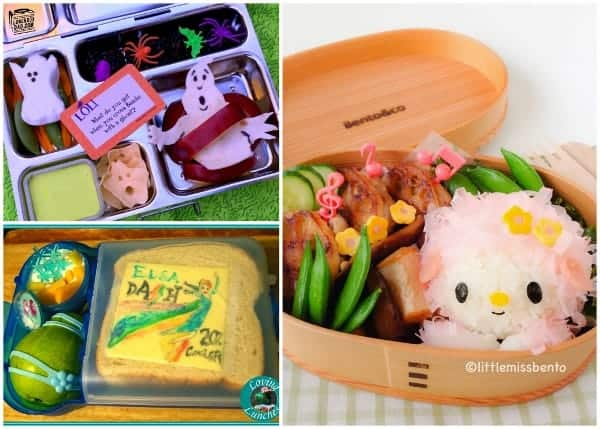 Fantastic Round-Up of some of the best creative bento lunches and bloggers from around the web 5
