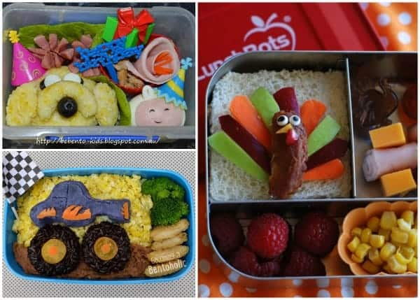 Fantastic Round-Up of some of the best creative bento lunches and bloggers from around the web