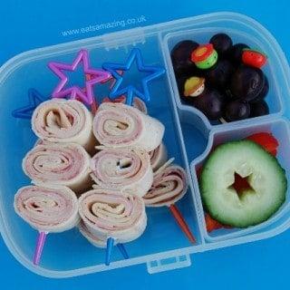 Healthy Lunch Idea: Tortilla Wrap Spirals
