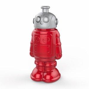 Retro Robot Kids Water Bottle - Fred & Friends Botl from the Eats Amazing UK Bento Shop