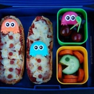 Pacman Bento Lunch & #FunFoodFriday