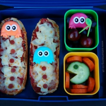 Pacman Bento Lunch & #FunFoodFriday