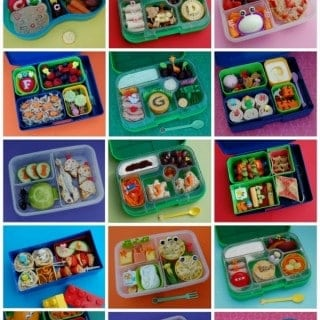 My Food Alphabet – Themed Bento Lunches