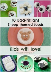 10 Fun Sheep Themed Foods for Kids