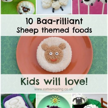 10 Fun Sheep Themed Foods for Kids - Perfect for Chinese New Year and Easter Too - Eats Amazing UK