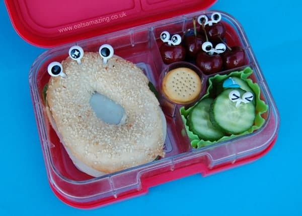 A week of simple and fun bento lunch ideas for kids from Eats Amazing UK