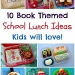 Book Themed Food: Book Bento Lunch Ideas