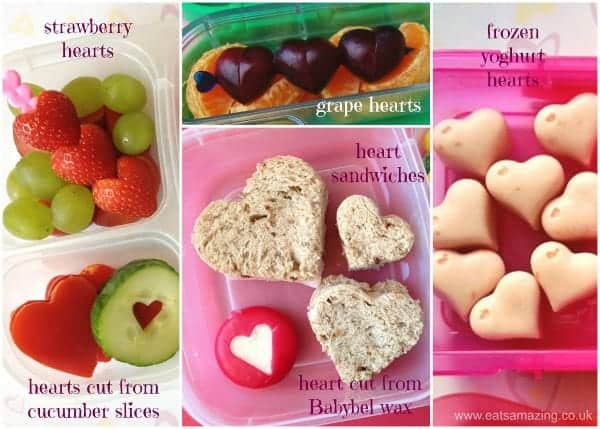 Cute ideas for healthy Valentines food for packed lunches this Valentines Day - Eats Amazing UK