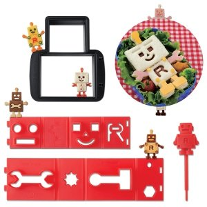 UK CuteZCute Robo Bread Sandwich Cutter Set from the Eats Amazing UK Bento Shop