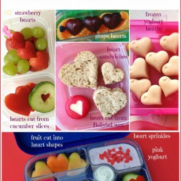 Simple & Healthy Valentines Day Lunch Ideas