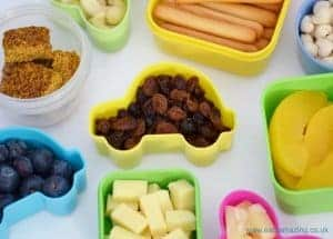 Quick and Easy healthy breakfast snack pots -fun and healthy breakfast ideas for kids!