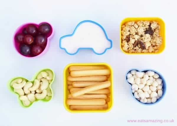 Quick and Easy healthy breakfast snack pots - loads of great healthy breakfast ideas for kids!