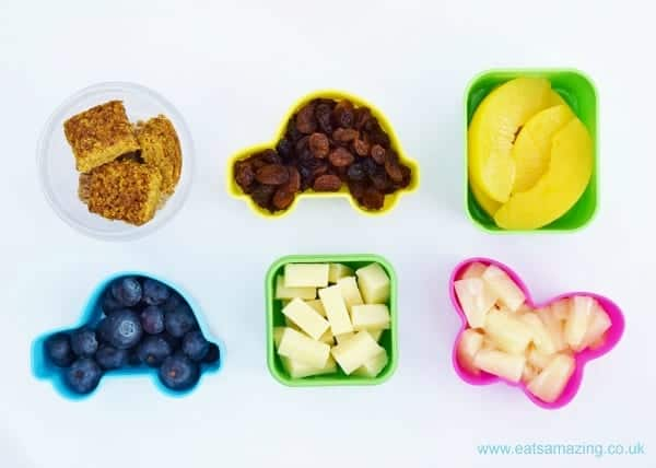 Quick and Easy healthy breakfast snack pots - some great ideas for a healthy breakfast on the go!