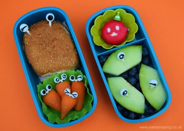 five simple and fun bento lunch ideas for kids from Eats Amazing UK