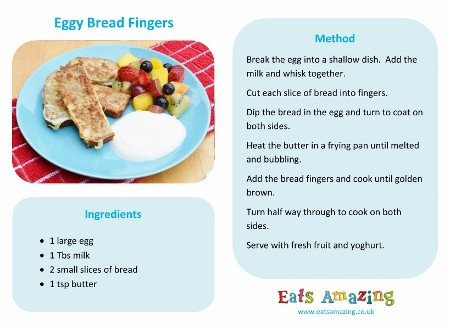 Easy recipes for kids eggy bread fingers eats amazing uk simple eggy bread fingers recipe for kids free downloadable recipe sheet forumfinder Choice Image