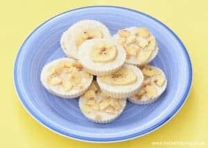 Easy Recipes for Kids – Frozen Banana Yoghurt Bites