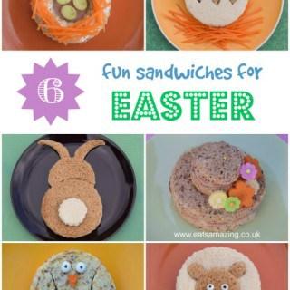 Healthy Easter Food – 6 Fun Kids Sandwich Ideas