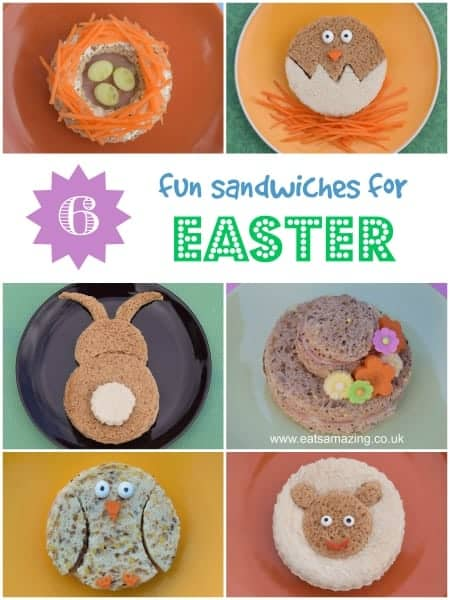 Healthy easter food 6 fun kids sandwich ideas eats amazing for Easter ideas for food