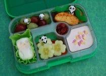 Simple Panda Bento Lunch in the Yumbox UK Bento Box from Eats Amazing UK - fun food for kids