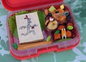 Stick Man Book Bento Lunch