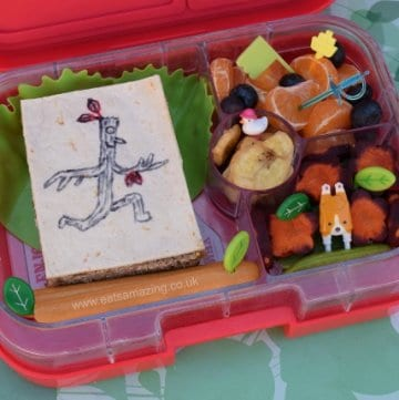 Stick Man Themed Book Bento Lunch from Eats Amazing UK - healthy and fun kids food
