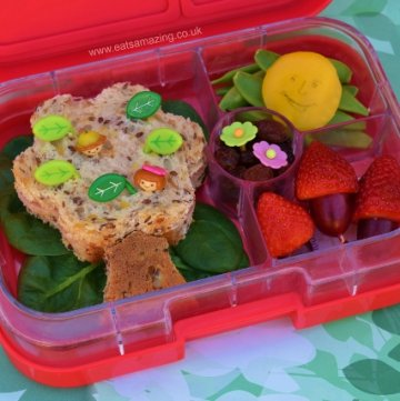 The Magic Faraway Tree Book Bento Lunch from Eats Amazing UK - healthy fun food for kids