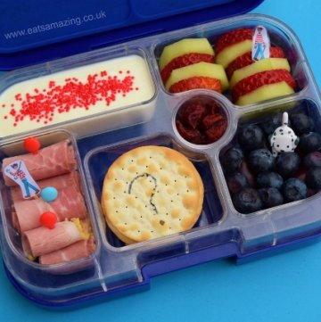 Where's Wally Book Bento Lunch for World Book Day from Eats Amazing UK