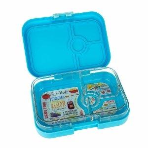 Yumbox Panino in Gelato Blue from Eats Amazing UK - fun kids bento boxes UK