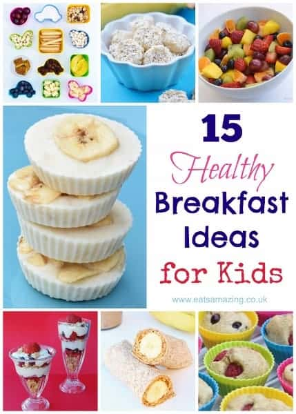 Three Quick Breakfast Ideas for Kids