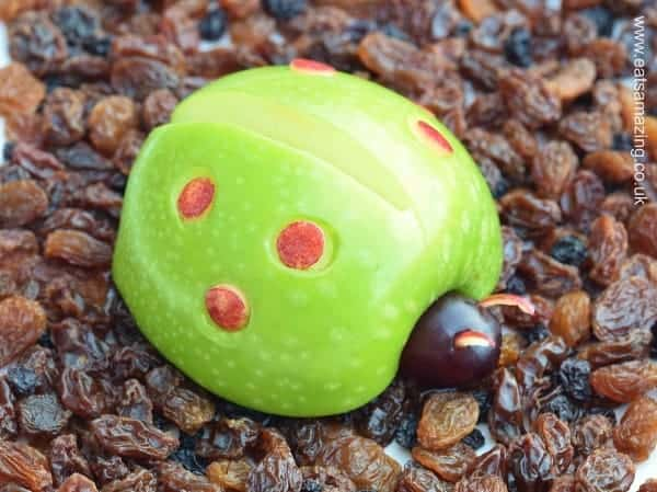 Apple Bug - Fun food for kids from Eats Amazing UK - with full instructions and video tutorial