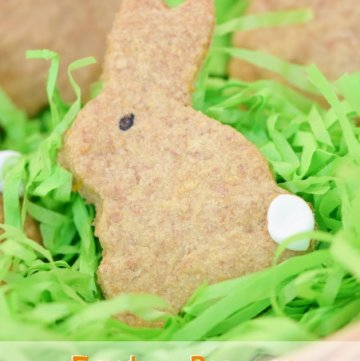 Easter Bunny Carrot Biscuits Recipe