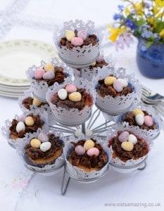 Easter Nest Cupcake Recipe