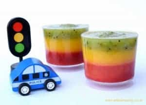 Traffic Light Fruit Smoothie Recipe