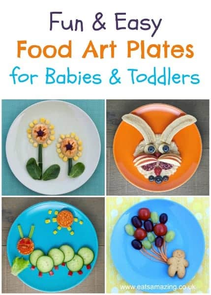 Fun and easy food art for babies toddlers eats amazing for Fun kid food crafts