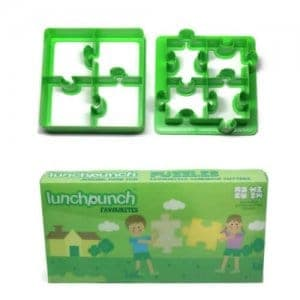 Lunch Punch Sandwich Cutters Set of 2 - Puzzles -from the Eats Amazing UK Bento Shop - making healthy food fun for kids