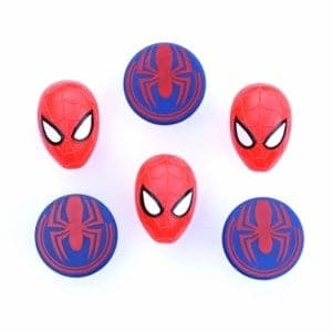Spiderman Cupcake Rings UK from the Eats Amazing UK Bento Shop - fun bento accessories for kids and cake decorating supplies