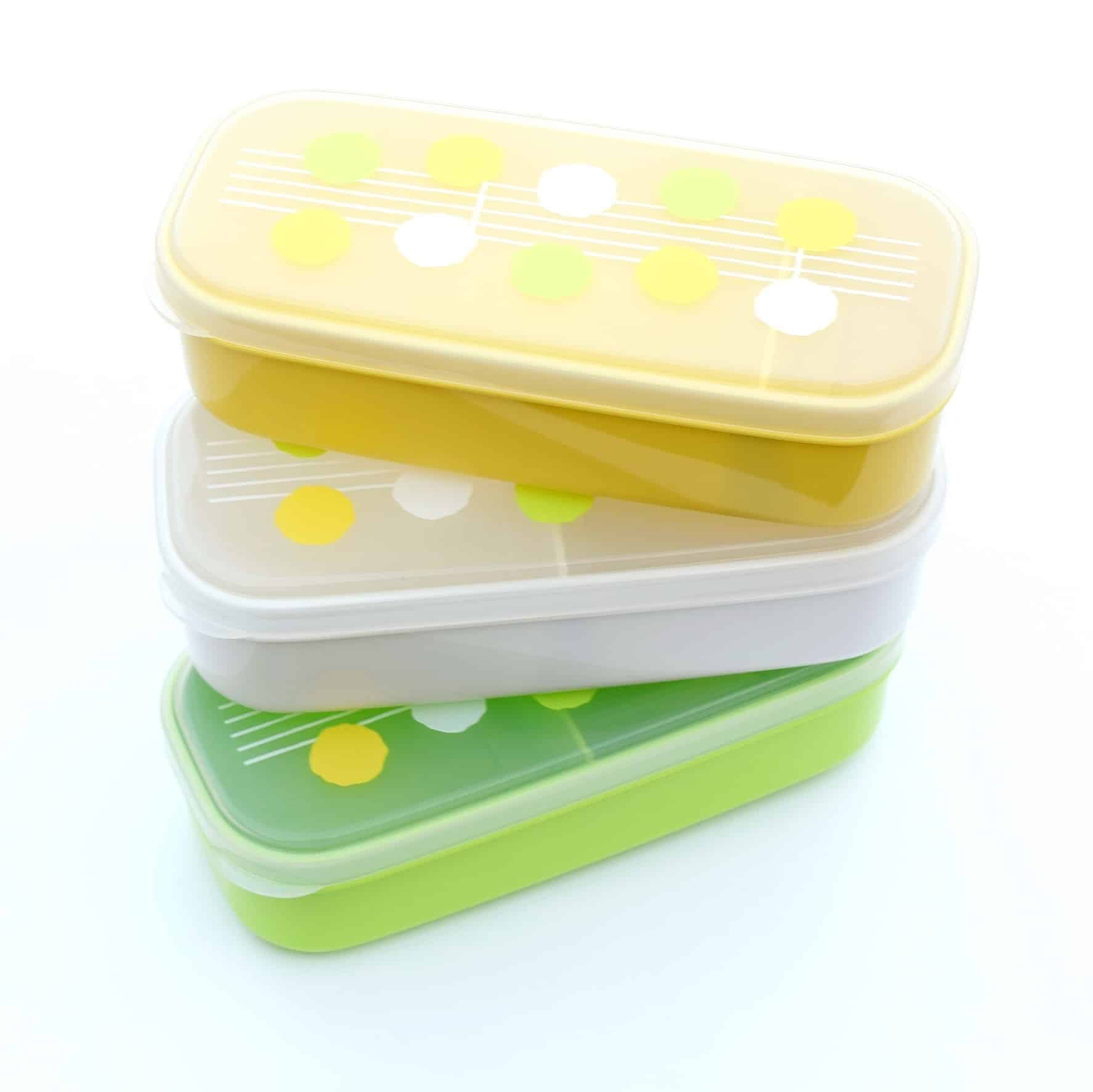 springtime bento boxes set of 3 eats amazing. Black Bedroom Furniture Sets. Home Design Ideas