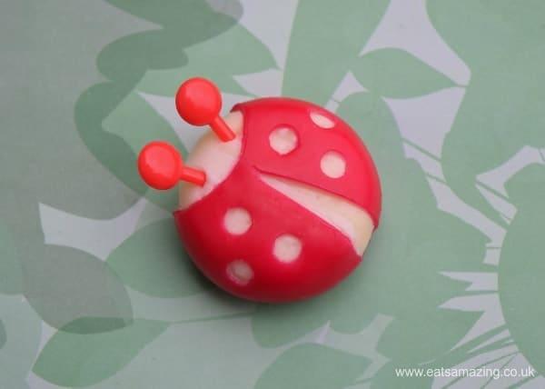 Ladybug Babybel Cheese idea - fun food for kids from Eats Amazing UK