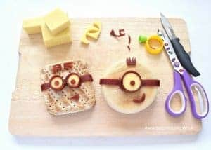 Minion Sandwich Tutorial & Bento Lunch