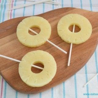 Frozen Pineapple Ice Pops Recipe