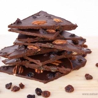 Dairy Free Homemade Chocolate Bark Recipe