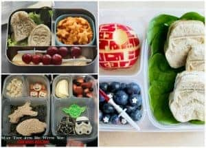 Star Wars Bento Lunches from my Friends