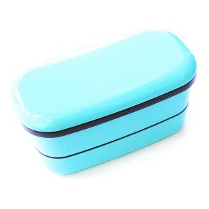 Bright Blue Japanese Bento Box from the Eats Amazing UK Shop