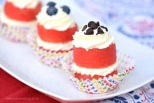 Easy Watermelon Cupcakes Recipe