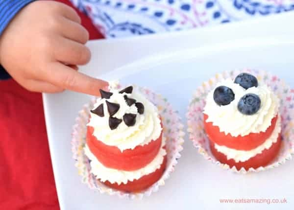 Cupcakes Recipe Uk Easy: Easy Watermelon Cupcakes Recipe