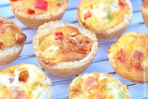 Easy Mini Quiches Recipe - Eats Amazing