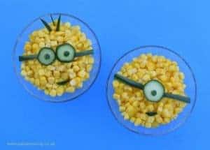 Minion Layered Rice Salad Recipe