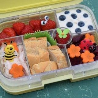 Easy Garden Bento Yumbox Lunch